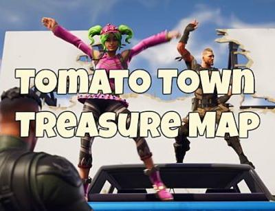 Fortnite Tomato Town Map & Loot Location Guide