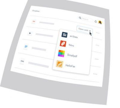 Dropbox launches extensions so you can work with Adobe, Autodesk, DocuSign, and other apps