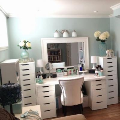 20 Fresh White Makeup Vanity Desk Pics