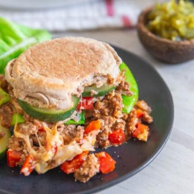 Heathy Sloppy Joes