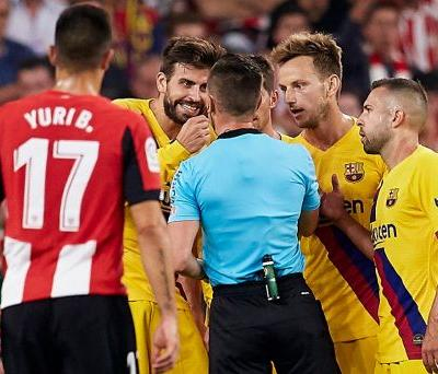 Without Messi, Barcelona loses 1st league opener in 10 years