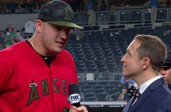 Mike Trout on Yankee Stadium: 'I just like hitting here'