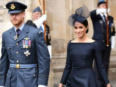 Meghan Markle Wore a Thing: Bespoke Dior Dress Edition
