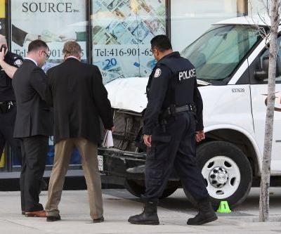 Toronto van suspect booked on murder charges