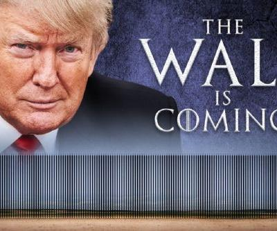 'Game Of Thrones' Fans Really Hate Trump's Show-Themed Border Wall Meme