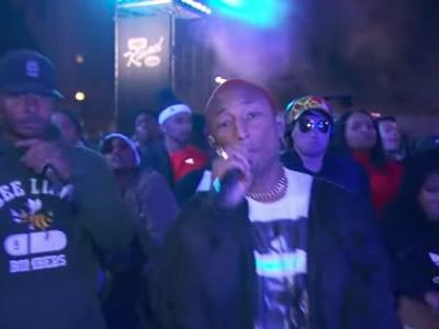 N.E.R.D. Gave Late Night an Energy Boost on 'Kimmel'