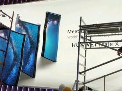 'Huawei Mate X' is the company's first foldable phone, leaked banner provides a sneak peek