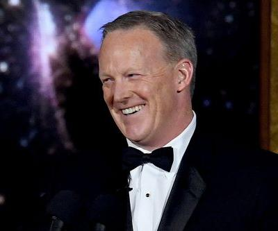 Hollywood's Liberal Elite Tweet Their Disgust With Sean Spicer's Emmy Cameo