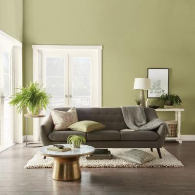 Behr Paint's 2020 Color Of The Year, Back To Nature, Will Give You So Much Design Inspo