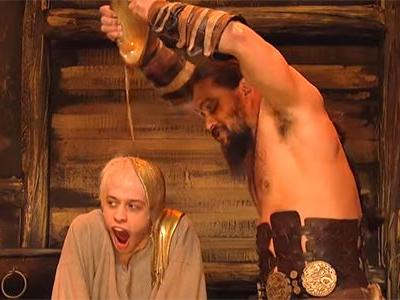 Watch Jason Momoa's Game Of Thrones Spoof And More In Barefoot SNL Debut