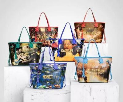"Jeff Koons Introduces New ""Masters"" in Second Louis Vuitton Collection"
