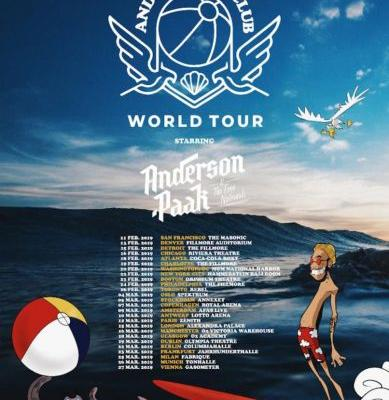 Anderson .Paak announces 2019 world tour