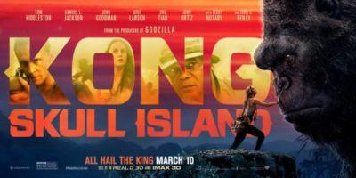 2 New Banner Posters of Kong Skull Island