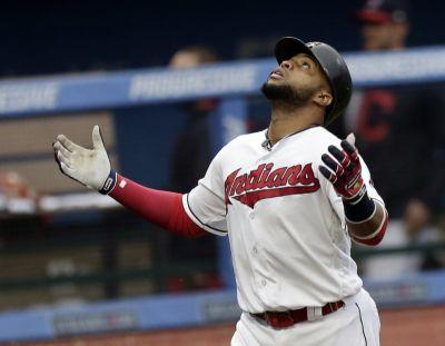Reds 4, Indians 3: Reds score twice in ninth to hand closer Cody Allen and Indians a rare late defeat