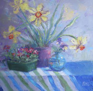 A Sign of Spring, New Contemporary Painting by Sheri Jones