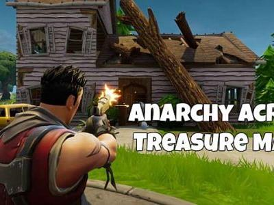 Fortnite Anarchy Acres Treasure Map Guide
