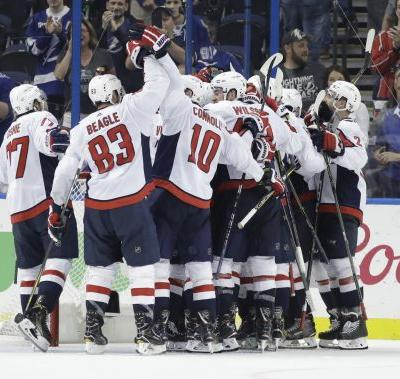 Ovechkin, Holtsby shine in Game 7, Caps beat Lightning 4-0