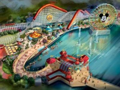 Pixar Pier to Open in 2018 with Incredibles-Inspired Incredicoaster