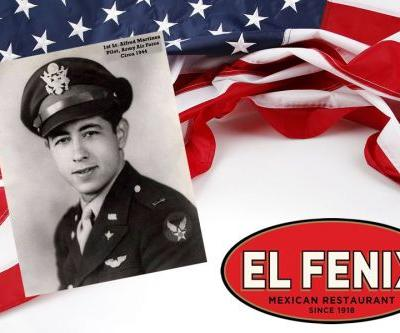 El Fenix Salutes All Military Personnel With Free Meal On Veterans Day