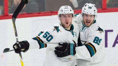 Sharks re-sign forward Chris Tierney to one-year contract