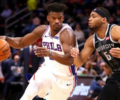 No Joel Embiid, no matter: Jimmy Butler dominates