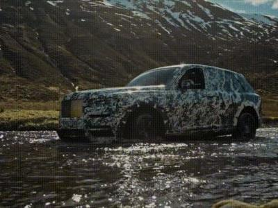 Check Out The Rolls-Royce Cullinan SUV In Action