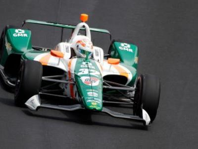 Kyle Kaiser, the Guy Who Bumped Fernando Alonso, Is the First to Crash in the Indy 500