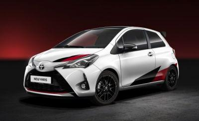 Toyota Previews High-Performance Yaris: It's a Car!