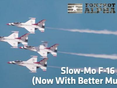 We Swapped The Music On These Slow-Motion Fighter Jets And It's So Much Better