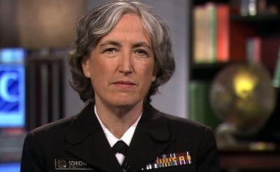Rear Admiral with a lot of experience now acting CDC director