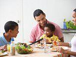Why a family meal is so important, study says