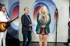 Kesha Delivers Empowering Performance Of 'Here Comes the Change' On 'Ellen': Watch