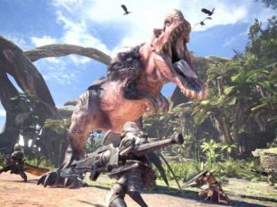 PSX 2017: Watch 10 Minutes of New Monster Hunter: World Gameplay
