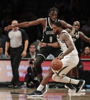 Dinwiddie scores 25, leads Nets over Jazz, 118-107