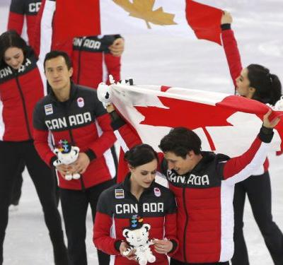 Christie Blatchford: Powered by love, Canada's figure skaters win a gold medal for the road