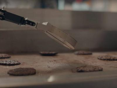 A fast-food chain is using a robot that can grill 150 burgers per hour - and the technology could one day put workers out of a job