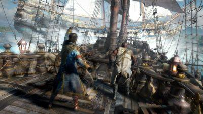 Skull and Bones will have a full campaign alongside its multiplayer PVP shenanigans
