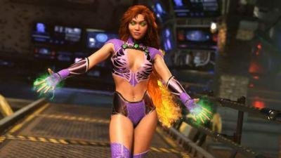 Injustice 2's Starfire Ignites The Competition in New Trailer