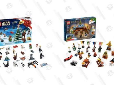 You're Going to Want All 280+ Pieces of These Star Wars and Harry Potter LEGO Advent Calendars