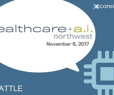 Grab the Early Bird Rate for Healthcare + A.I. NW on Nov. 9