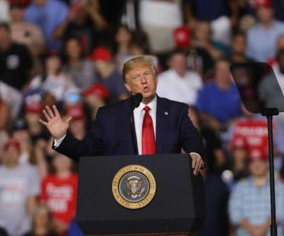 Trump calls supporter he said was overweight after mistaking him for protester at rally