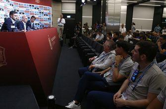 Spain in chaos 2 days before World Cup after coach fired