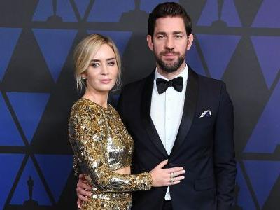 John Krasinski Couldn't Stop Crying Watching His Wife In 'Mary Poppins' And We're Swooning