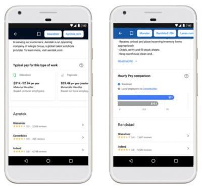 Google's Job Search Engine Improved With New Tools