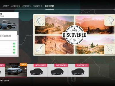 Need for Speed Payback: where to find all 5 hidden Derelicts cars, chassis and parts