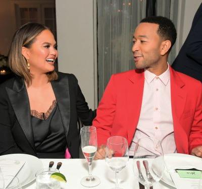 John Legend's Comment On Chrissy Teigen's NSFW Vacation Photo Is Flirty AF