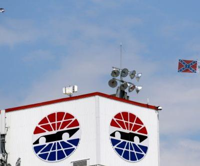 Confederate flag flies above NASCAR race for second time since ban