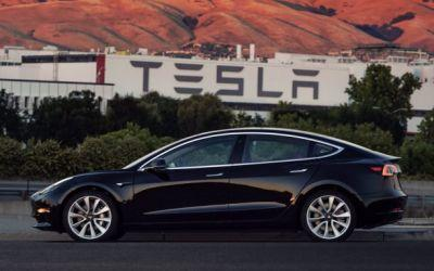 This is the first production Tesla Model 3. guess who owns it