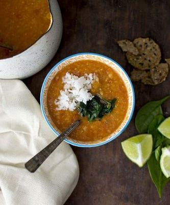 Indian Red Lentil Soup