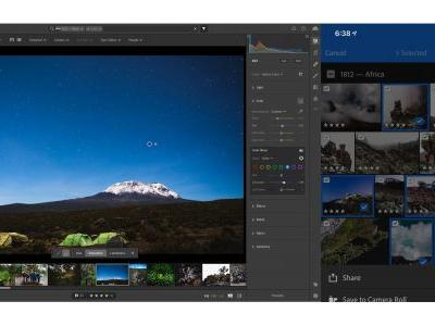 Adobe gives Lightroom a boost with Sensei-powered functionality